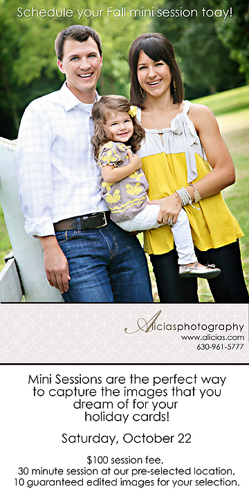 Naperville Chicago Family Photographer...Mini Sessions